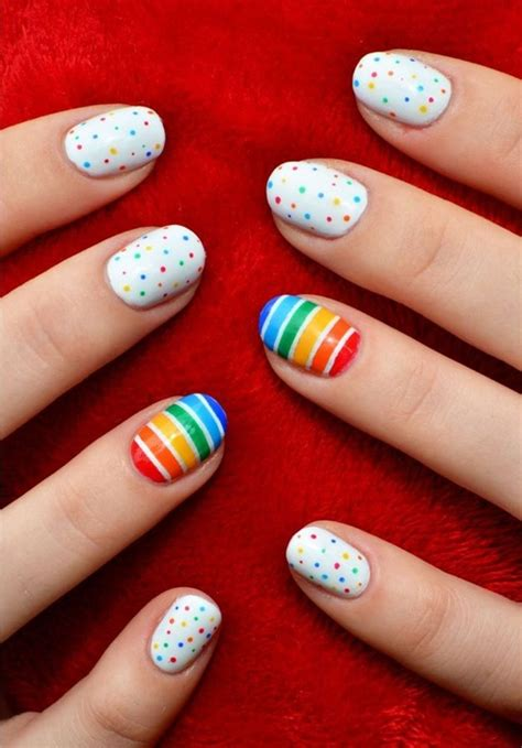 easy nail art designs newspaper 30 simple and easy nail art ideas