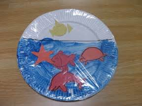 Sea Crafts For Kids - preschool crafts for kids easy sea life paper plate craft