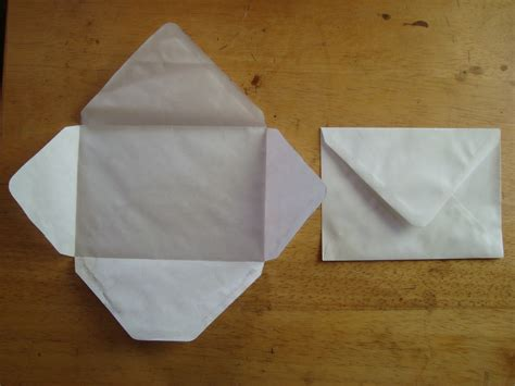how to make an envelope from paper make your own envelope tutorial