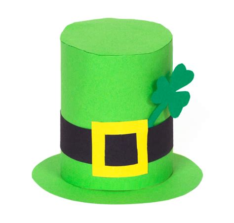 How To Make A Leprechaun Hat Out Of Paper - st s day hat think crafts by createforless