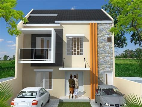 desain gambar rumah minimalis tak depan yang cantik