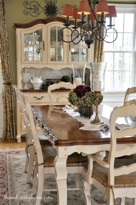 French Country Dining Room Tables | 99 best images about dining tables chairs chalk paint