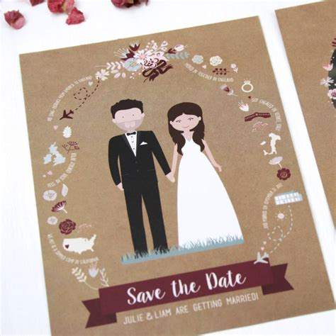 7 No Holds Date Ideas by Illustrated Save The Date By Rodo Creative
