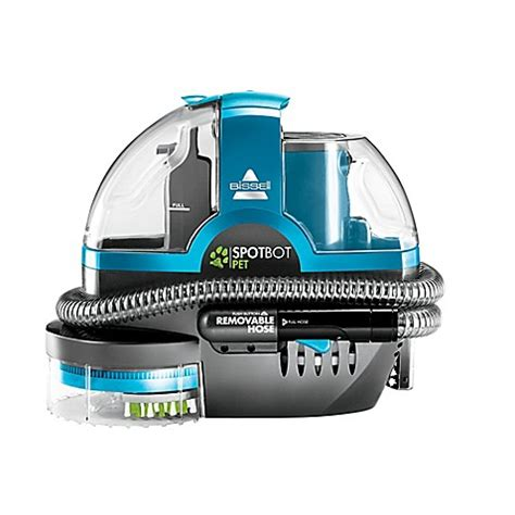 bed bath and beyond carpet cleaner bissell 174 spotbot 174 pet deluxe portable carpet cleaner in