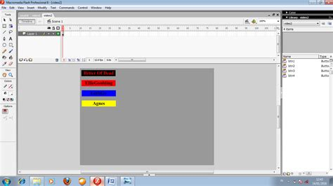 tutorial membuat video klip tutorial menu video klip pada macromedia flash 8 afrida
