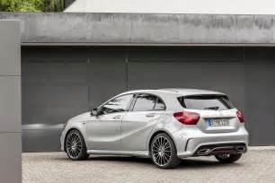 2016 mercedes a class facelift debuts with new 1 6 engine