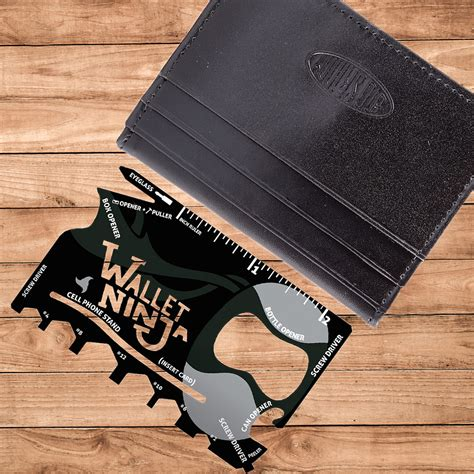 wallet tool card wallet credit card sized multi utility tool