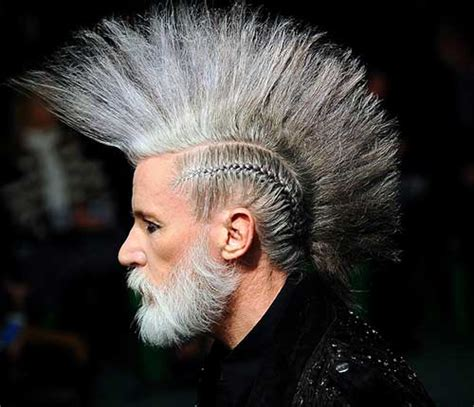 old lady mohawk 20 best punk haircuts for guys mens hairstyles 2018