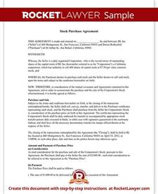 Share Subscription Agreement Template Stock Purchase Agreement Template Sample Agreement