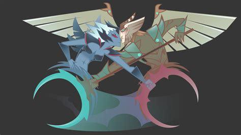 Kaos Dota 2 Skywrath Mage skywrath mage and vengeful spirit by loussiry on