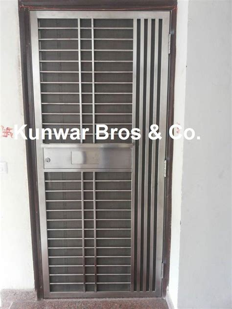 Front Door Safety Kunwar Bros Co Ss Door Steel Door Door Safety Door Security Door Stainless Steel Doors