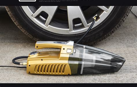 4 In 1 Car Vacuum Cleaner Portable High Power Tire Inflator Flashlight buster reviews shopping buster reviews on aliexpress alibaba