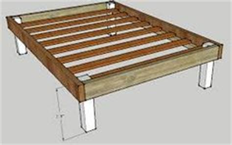 2x4 Bed Frame Plans How To Build A Bed Frame Woodworking Projects Plans