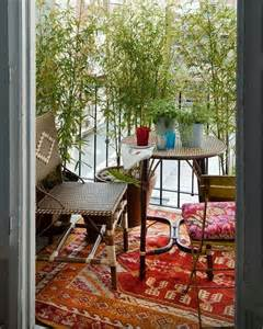 Balcony Decor 24 Colorful Boho Chic Balcony D 233 Cor Ideas Digsdigs