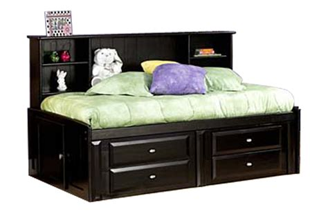 room saver laguna black roomsaver bed at gardner white
