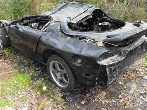 motor repair manual 1995 mazda rx 7 engine control sell used 1995 mazda rx7 for parts not a roller trans interior hood fenders no engine in