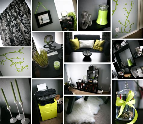 Black Home Decor by Eduarda S The Lime Green And White Of These Wedding
