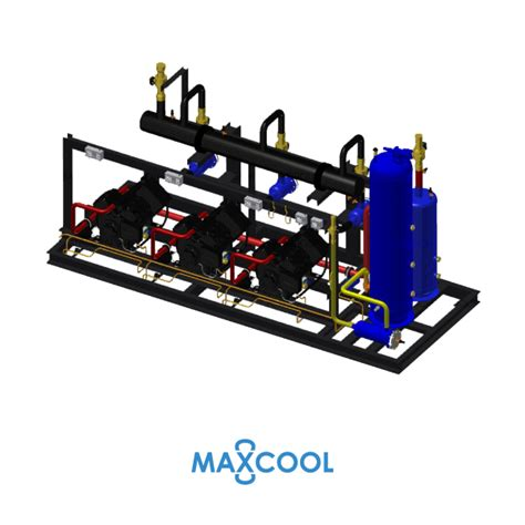 Compressor Rack by Compressor Rack Maxcool Rdl 45 Ab4 Sangchaigroup