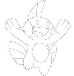 pokemon mudkip coloring pages images pokemon images