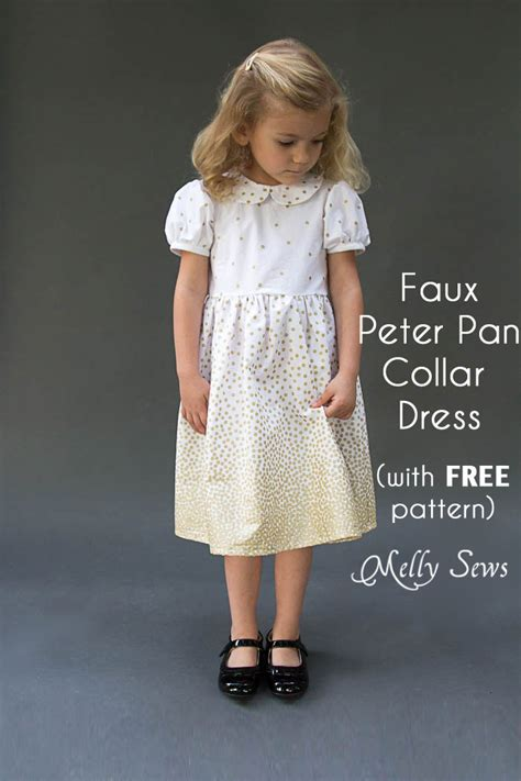 dress pattern with collar peter pan collar dress pattern www pixshark com images