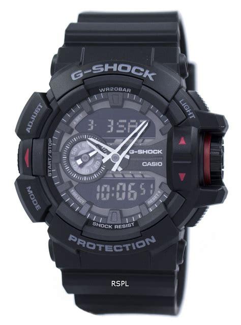 Casio Ga 400 1b casio g shock analog digital ga 400 1b mens