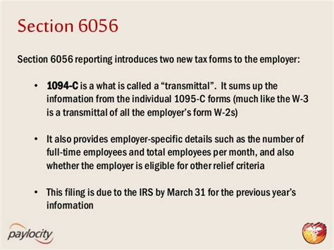 irs section 6056 affordable care act the clock is ticking