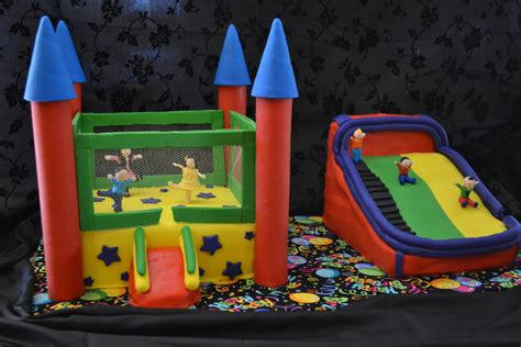 bounce house party bounce house party cakecentral com