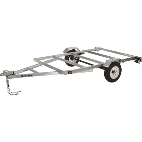 small wooden boat trailer ultra tow 5ft x 8ft aluminum utility trailer kit 1715