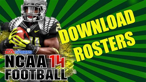 Ncaa Football 14 Roster Download | ncaa football 14 quot free real game rosters download quot ncaa 14