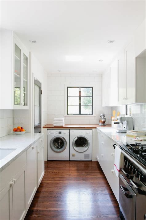 kitchen and laundry room designs a new england kitchen by way of la small white kitchens