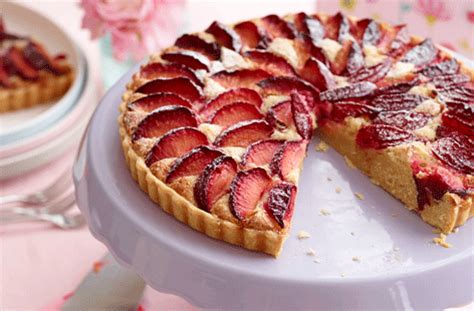 plum frangipane tart tesco real food