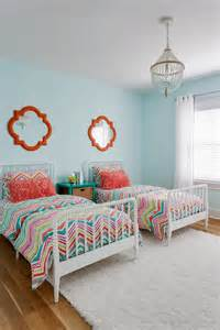 Staggering coral teal bedding decorating ideas