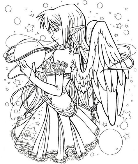 gothic fairies coloring pages printables pinterest