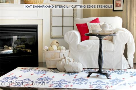 Benjamin Moore Mexicali Turquoise by Ikat Get Enough Ikat Samarkand Stencils Stencil Stories