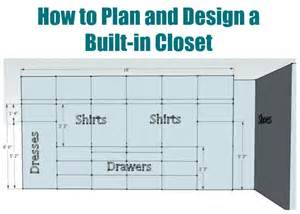 Design A Plan How To Plan And Design A Built In Closet From Sawdust Girl