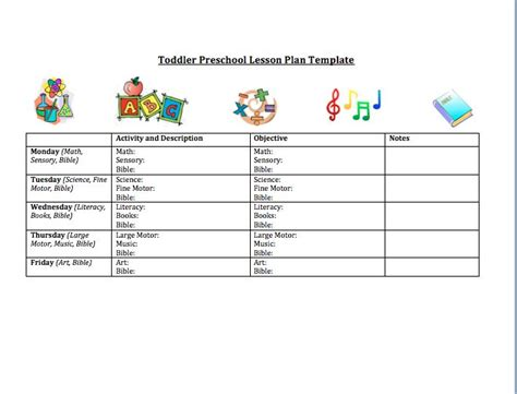 Best 25 Preschool Lesson Plan Template Ideas On Pinterest Preschool Lesson Plans Sle Of Daycare Program Plan Template