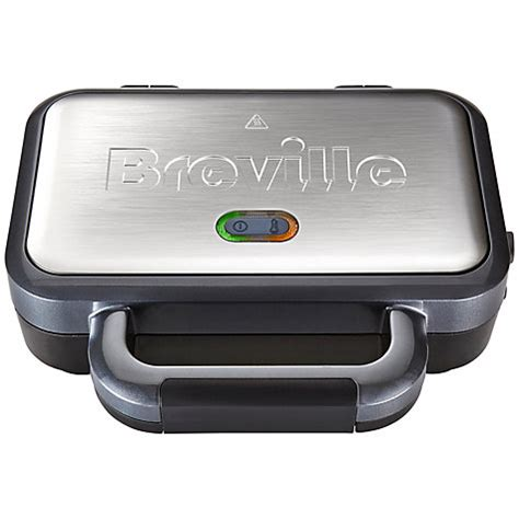 Sandwich Toasters With Removable Plates Buy Breville Vst041 Deep Fill Sandwich Toaster John Lewis