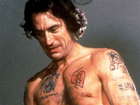 robert de niro tattoo the 11 most outrageous torsos on time out