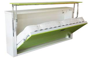 Folding Wall Bed Fold Up Wall Bed A Larger Room Maker Homesfeed