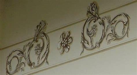 decori pareti interne stucchi e decori pitturare