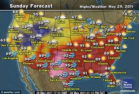 extended weather map usa michaeljessebrentand derrick weather map thinglink noaa