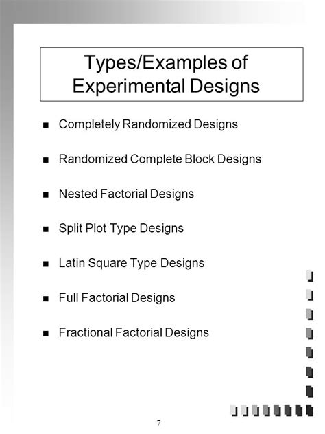 block design experiment exles experimental design response surface analysis and