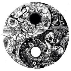 trippy yin yang coloring pages trippy flower doodles google search coloring patterns