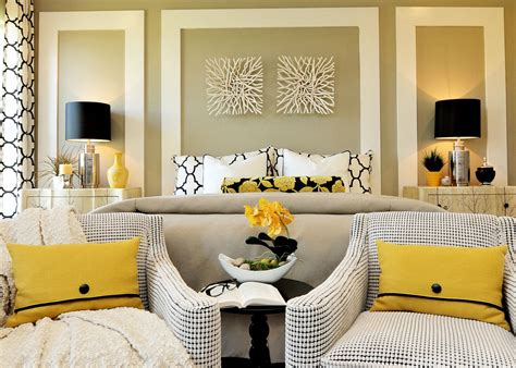 yellow master bedroom master bedrooms with a sitting area sofa chairs chaise