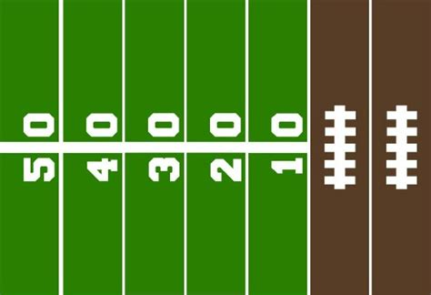 printable paper football field free printable game day paper chain