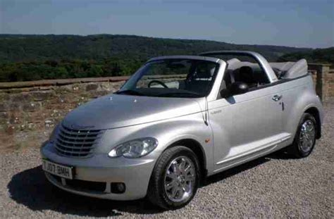 Pt Cruiser Manufacturer by Chrysler Pt Cruiser 2007 Convertible 2 4 Auto Limited
