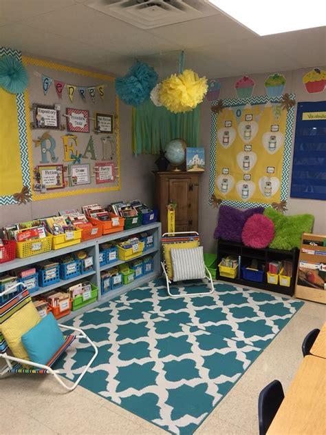 Reading Center Mrs Kondo S Class 3rd Grade Classroom Nursery Classroom Decoration