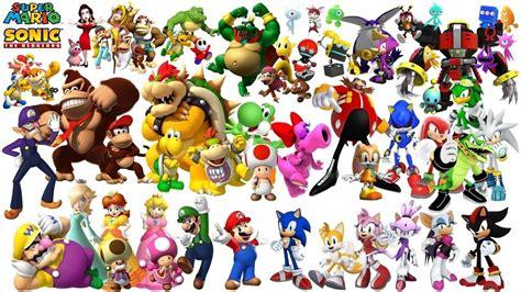 Mario And Sonic Crew by JcGrOoVez on DeviantArt