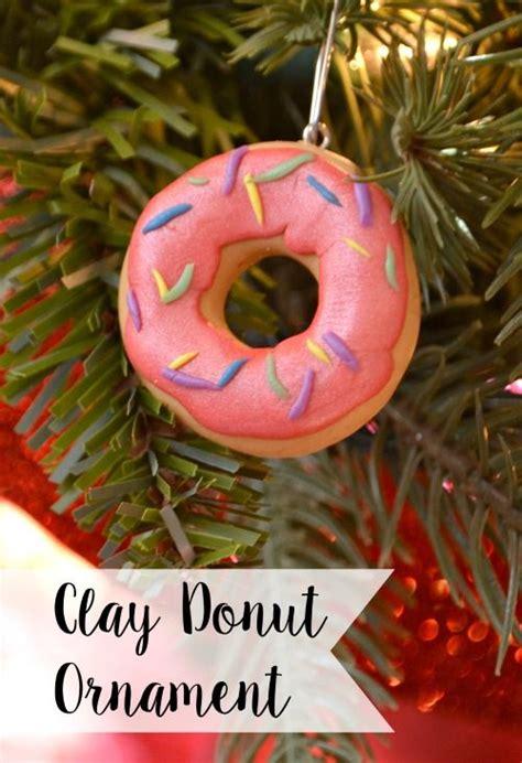 artsy ornaments clay donut ornament one artsy crafts donuts diy clay donuts and ornaments
