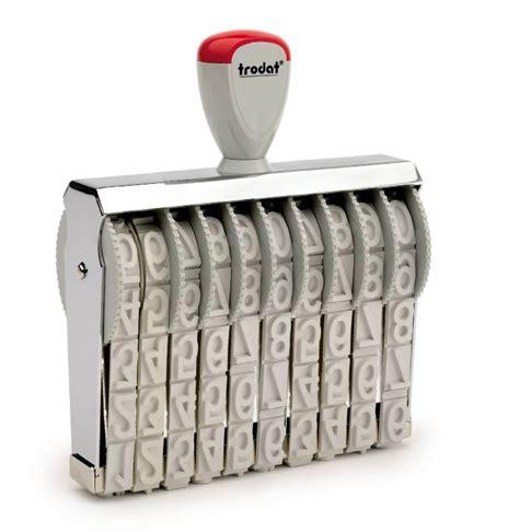 Stempel Trodat 151810 verstellbare stempel werbetechnik stempel